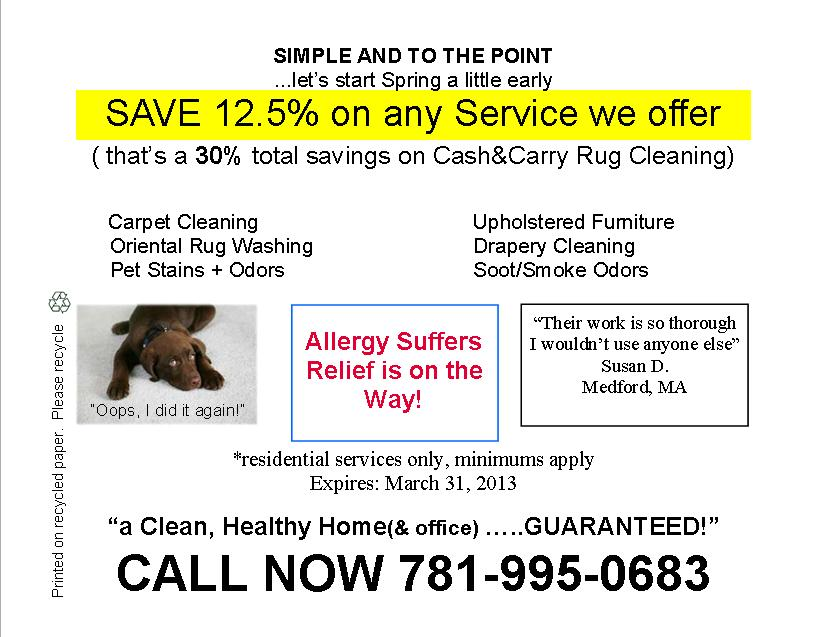 boston carpet cleaning, steam cleaning rugs and furniture
