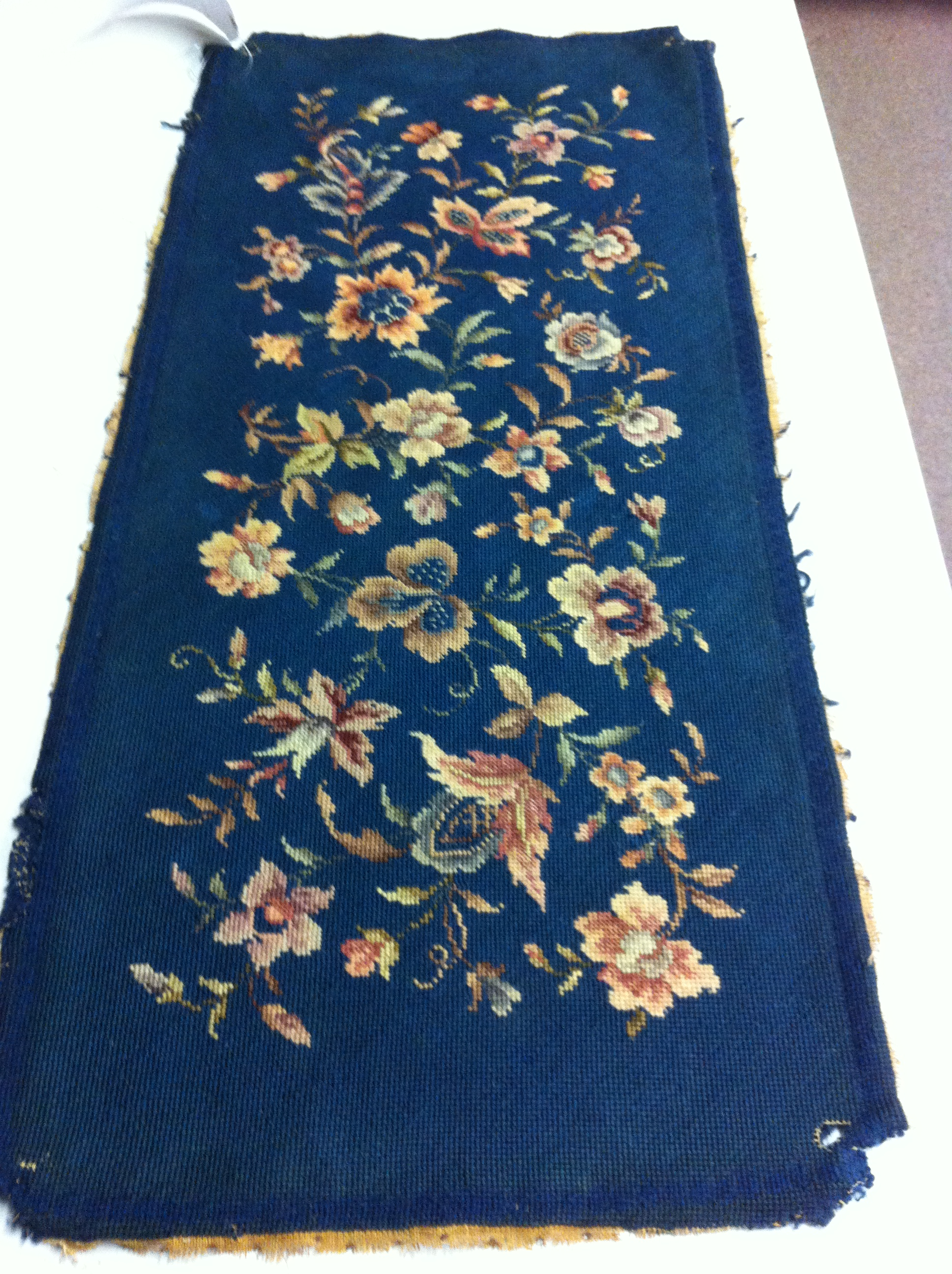 Antique Needlepoint Upholstery Cleaning Boston 781 995 0683