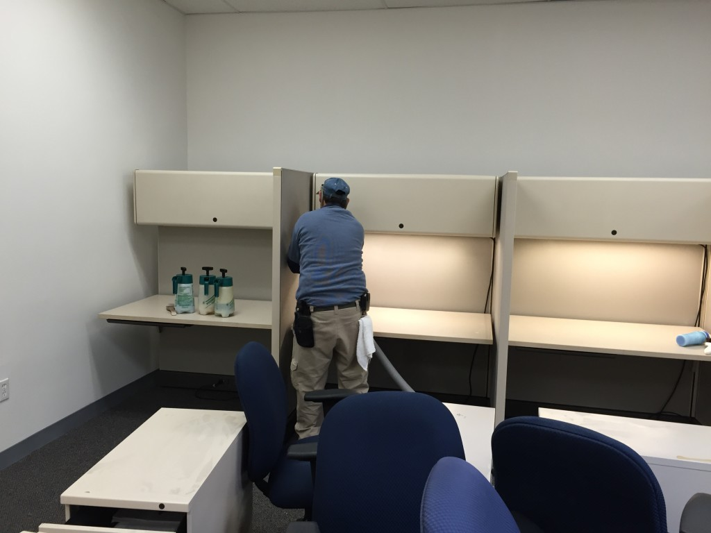 Office Cubicle Panel Cleaning Woburn Ma