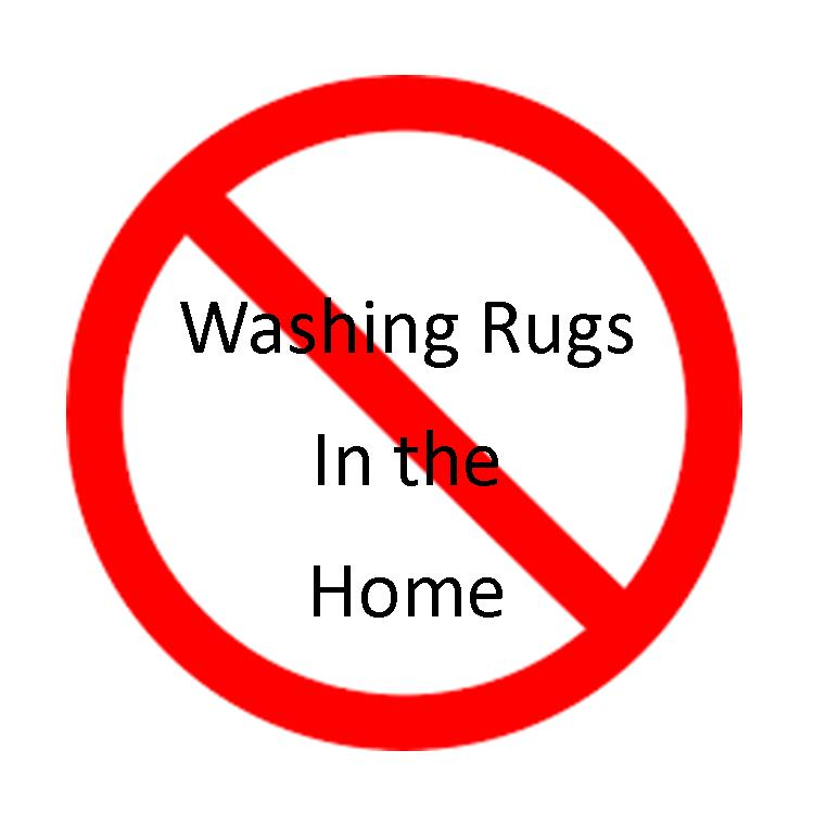 Why Rugs Should Never Be Washed in the Home