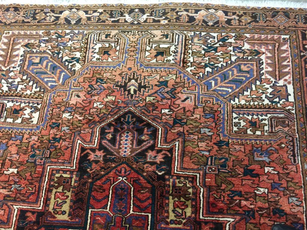 Dyeing Faded Oriental Rugs