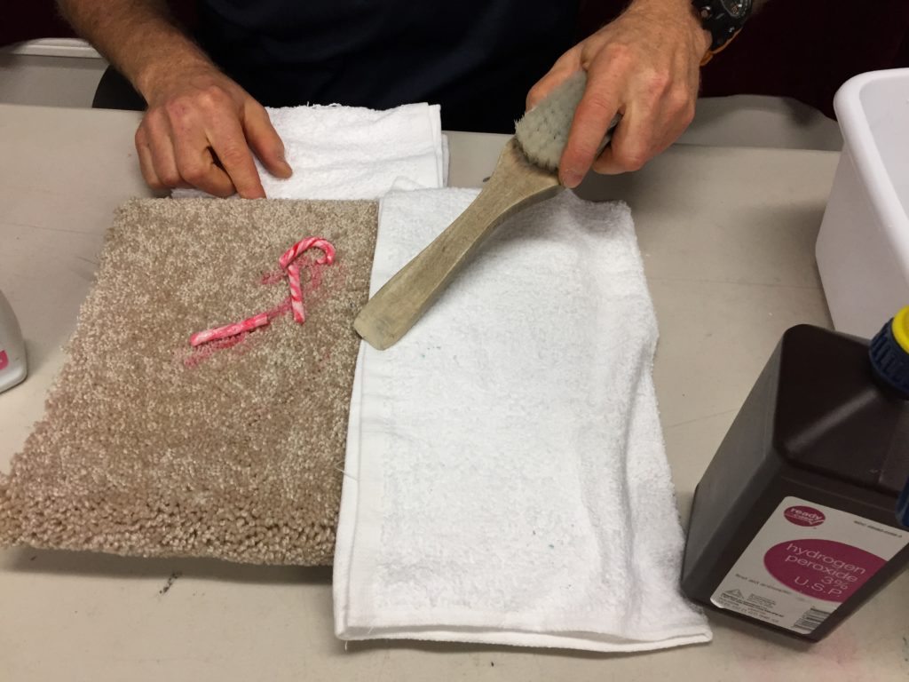 How To Remove Candy Cane From Carpeting