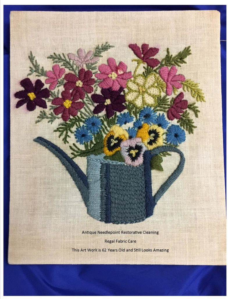 How To Clean A Needlepoint Wall Hanging