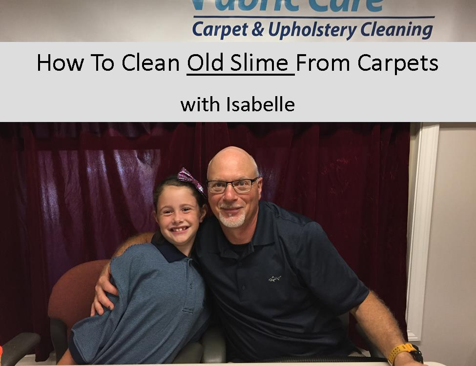 How To Clean Old Crusty Slime